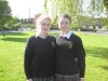Michaela Kenneally & Julieann Malone, members of Kilkennys u16 Camoige squad 2011