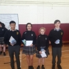 Maths Quiz Winners