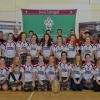 Camogie Teams with past Pupils on the Kilkenny Hurling Team