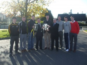 Kilkenny Minors and Seniors with Principal and Vice Principal