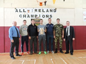 Kilkenny Players with Shane Fallon and Liam O'Brien