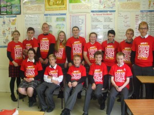 Ms Murphy and her 2nd year Irish class