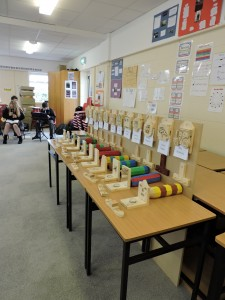 1st year display of work