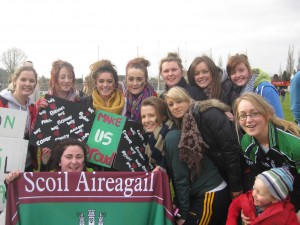 Scoil Aireagail supporters
