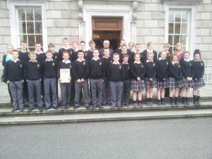 2nd Years at the Dáil 2013