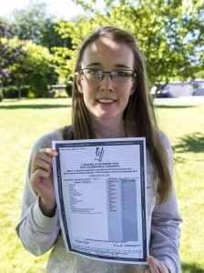 emma blake Best LC result 2013